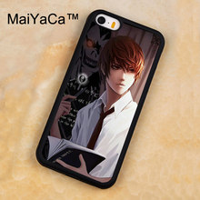 f5fe061b3 MaiYaCa Kira Death Note Manga Anime Case For iPhone 5s SE Case Rubber Soft  Back Cover For iPhone 5 5s SE Fundas Phone Accessory