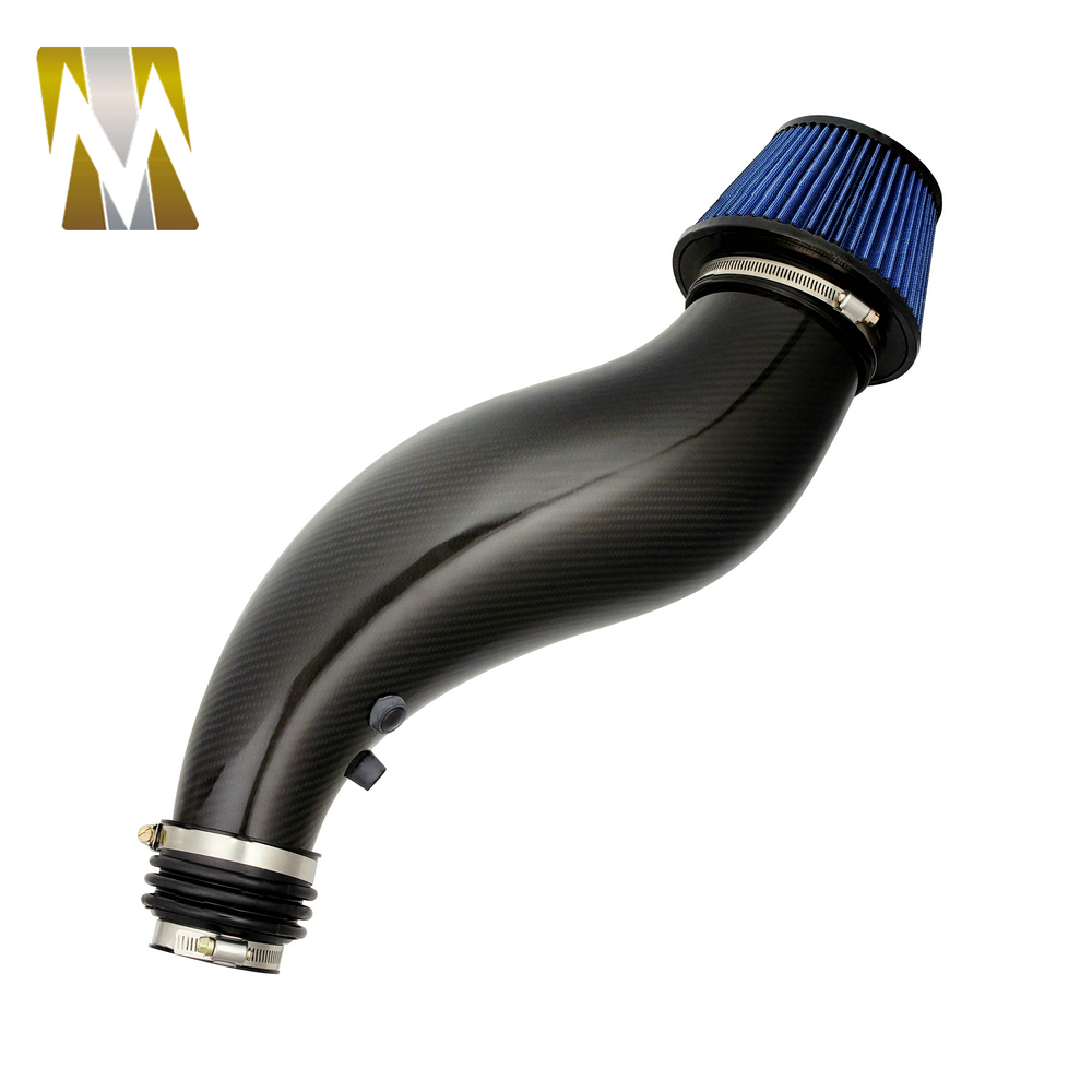 For Civic EK Car Hood Cold Air Intake Pipe With Air Filter For Civic EG Carbon Fiber Auto Part Accessories 1992-2000 цены