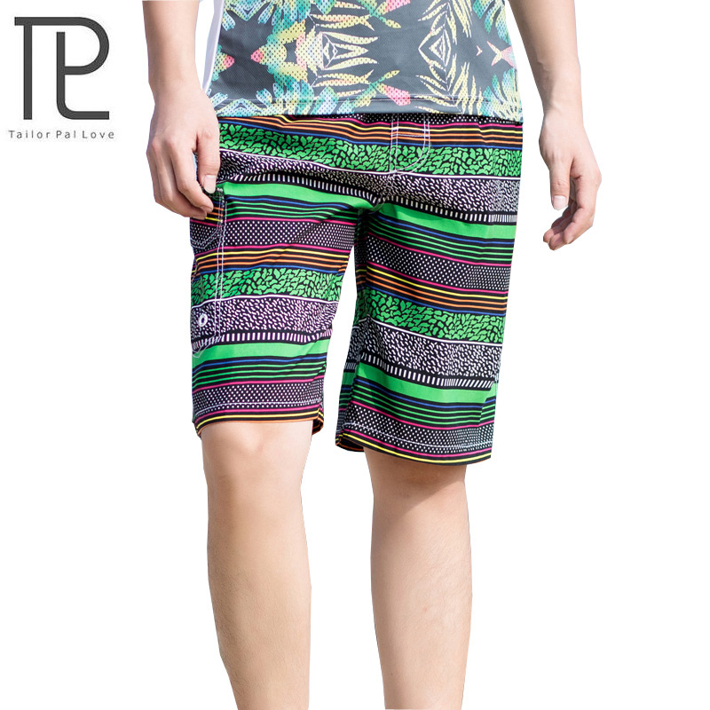 2017 new arrivals quick dry fashion printed beach   shorts   polyester casual   board     shorts   AYG286