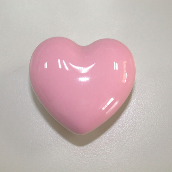 Heart shaped Ceramic Kids Cabinet Door Handle Kitchen Drawer ...