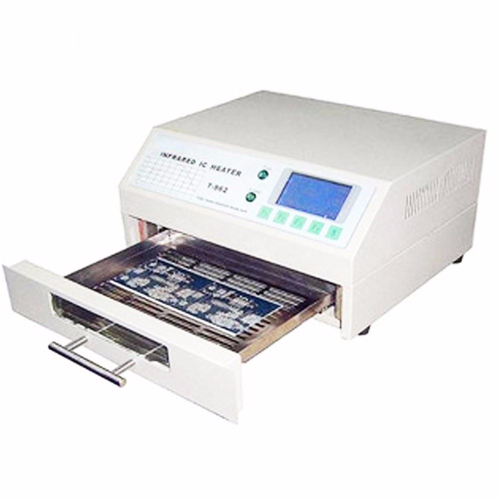 PUHUI T-962A infravörös IC fűtőtest reflux sütő BGA SMD SMT - Hegesztő felszerelések - Fénykép 4