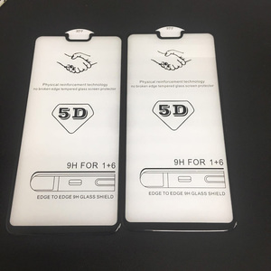 Image 5 - Original RIJOW 5D verre pour OnePlus 6 verre trempé pour One Plus 6 Film de protection décran 3D couverture complète écran Ultra mince noir