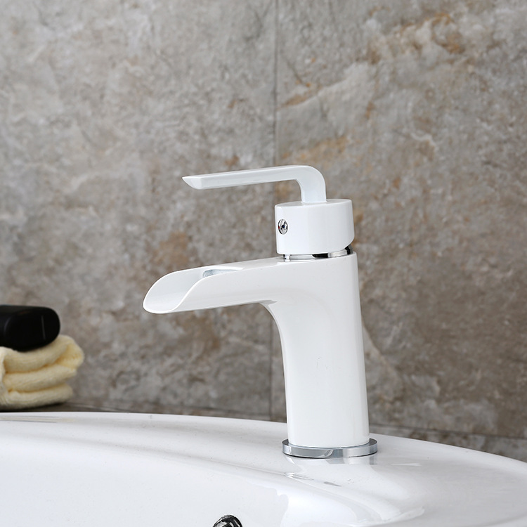 bathroom sink faucets colours flooring white basin faucet copper ...