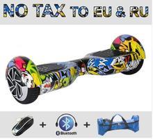 Ul de Dos ruedas de Auto de pie scooter eléctrico monociclo eléctrico Bluetooth + Bolsa 4400mA batería de Seguridad hoverboard oxboard por la borda