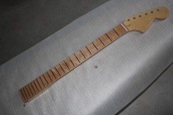 Electric guitar piano neck tiger maple maple board bird eye maple neck