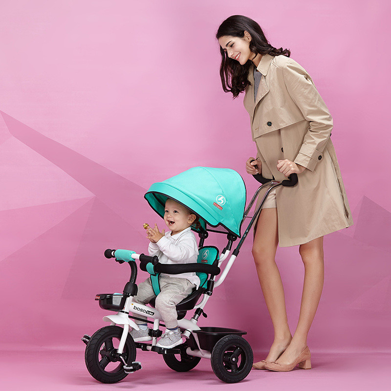 Hot Sell Seat 360 Degrees Rotated Baby Push Baby Stroller Multicolor Child Bike Commutatable Handle Kids Tricycle Free Drop Ship9