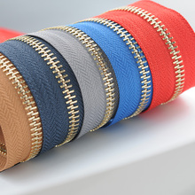 купить 10m/lot  Continuous Metal Zipper Chain Roll Tape for Instannt Fix Repair Leather Bag Briefcase Luggage Wholesale онлайн