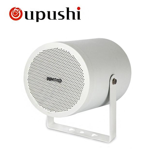 Oupushi 10 W altavoz de pared PA 100 V en altavoces de sonido envolvente de techo