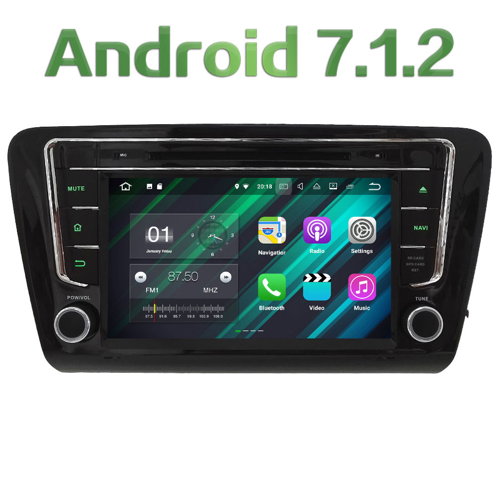 2GB RAM 8 Android 7 1 Quad Core 4G SWC BT Wifi Audio FM Multimedia Car