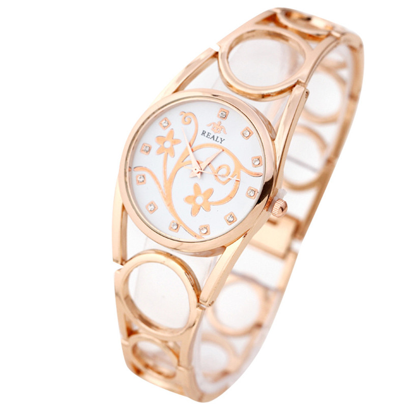 Fashion elegant Strap Bracelet Watch Round Dial Bracelet Table Women 's Watches relogio feminino Dropshipping Free Shipping NM5Z
