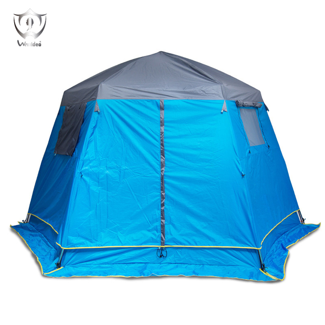 Double Layer Outdoor Tent Cabin C&ing Tent Instant Setup 320*360*200CM ZT  sc 1 st  AliExpress.com & Double Layer Outdoor Tent Cabin Camping Tent Instant Setup 320*360 ...