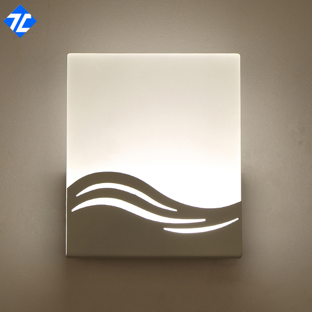 Hot Sale Square Bathroom Wall Lamp Indoor Hotel Corridor Decoration - Square bathroom sconce