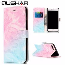Cheap Fundas For iPhone 7 PU Leather Case Cover Dirt-Resistant Wallet Mobile Phone Bags Flip kickstand Cases For iPhone 7 plus