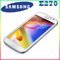 "100% Original Dual SIM Samsung Galaxy Grand Duos i9082 E270 android 4.1 mobile phone 5.0"" touch+8.0 MP+WIFI+GPS Refurbished"