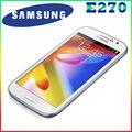 "100% original dual sim samsung galaxy grand duos i9082 e270 android 4.1 teléfono móvil 5.0 ""táctil + 8.0 mp + wifi + gps reformado"