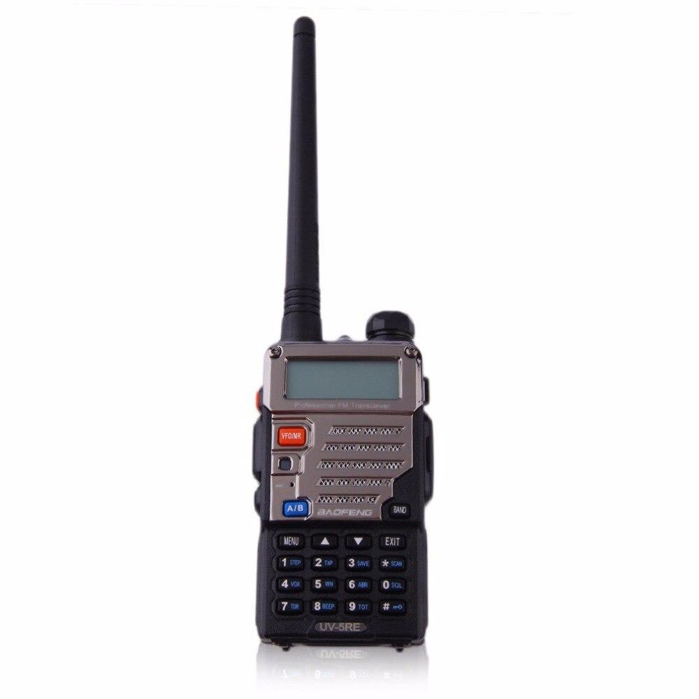 Baofeng BF-UV-5RE écran LCD talkie-walkie économiseur de batterie 5 W 128CH FM VOX DTMF Radio bidirectionnelle adaptateur US prise EU avec antenne - 4
