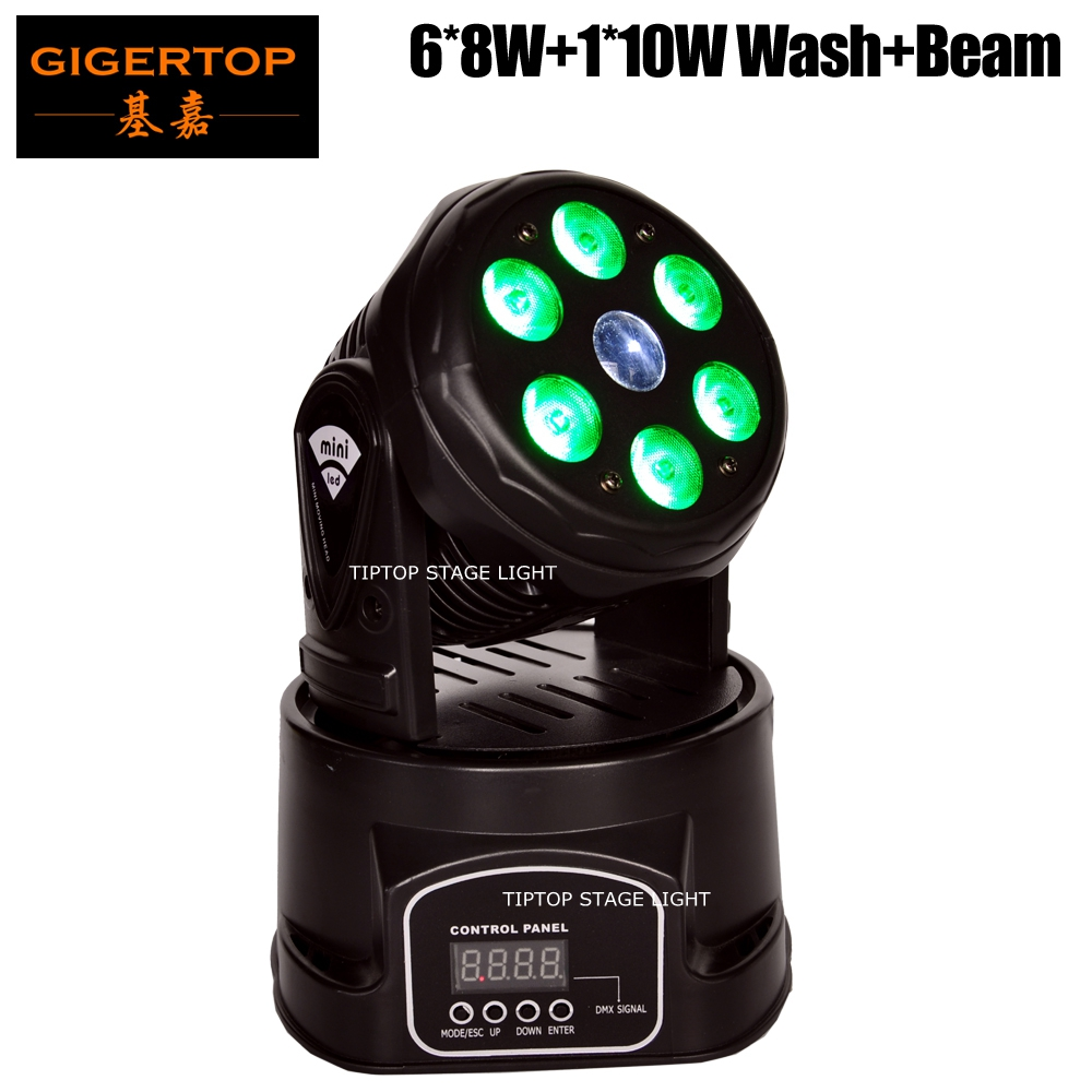 Freeshipping TP-L70C RGBW Wash/Beam Dual Effect Mini Led Moving Head Light 3 PIN XLR DMX Connector Disco/Dancing Hall Roof Light freeshipping 2xlot 108 3w rgbw wash led moving head light 24 red 28 green 28 blue 28 white edison led 3w free clamp safety wire