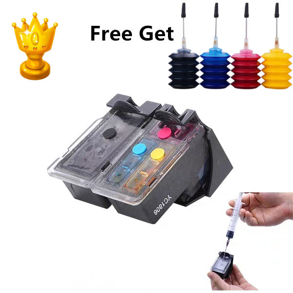 PG510 CL511 Refillable Ink Cartridge replacement for Canon PG 510 CL 511 Pixma MP240 MP250 MP260