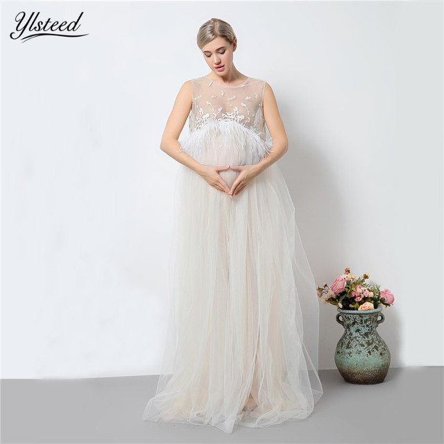 Aliexpress.com : Buy Maternity Photography Props White Lace Tassel ...