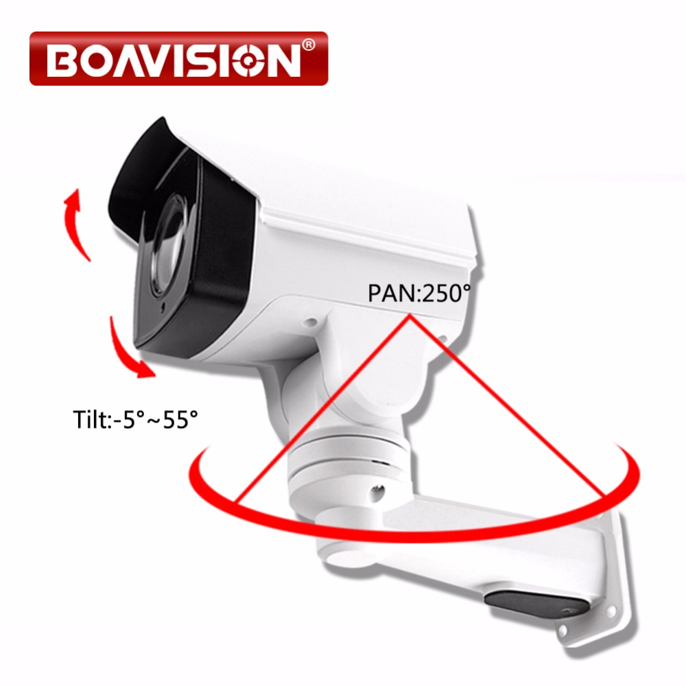 HD TVI PTZ Camera 1080P 2MP 4X Zoom Lens IR 50m Pan/Tilt Rotation Outdoor Bullet Security CCTV Camera,Middle Speed hd 1080p pan