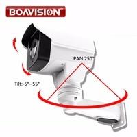 HD TVI PTZ Camera 1080P 2MP 4X Zoom Lens IR 50m Pan/Tilt Rotation Outdoor Bullet Security CCTV Camera,Middle Speed