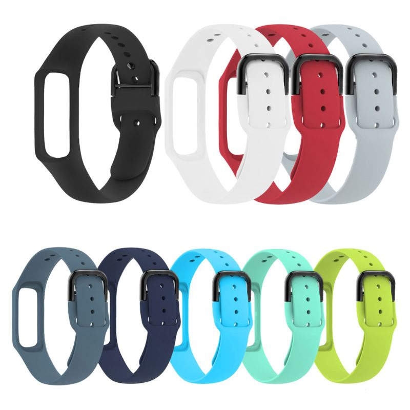 Anti Scratch Soft Silicone Watch Band Wrist Strap Replacement For Samsung Galaxy Fit-e R375 Bracelet Smart Watch Accessories