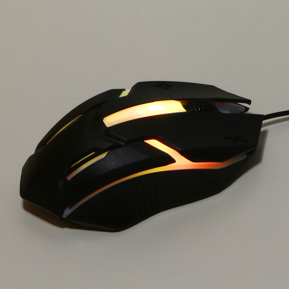 Design 1200 DPI USB Wired Optical Gaming Mice Mouse For PC Laptop