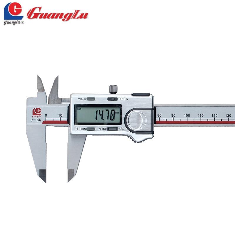 GUANGLU Absolute Digital Caliper 0 150 200 300mm Stainless Steel Electronic font b Measurement b font