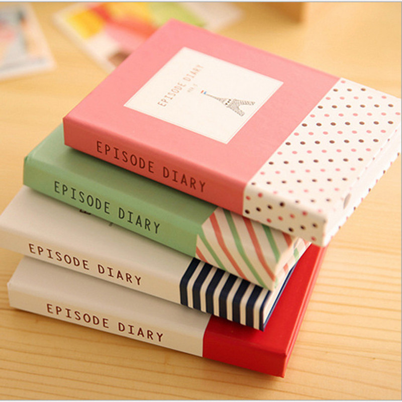 Cute Planner Notebook School Stationery Store Pen Sticker Set Agenda Diary Memo Note Pad Book Journal Office Accessory Notepad