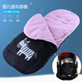 New Winter Stroller Bag Footmuff Direct Baby Stroller Footmuff Warm Windproof Anti Kick Foot Pram Thickened Child Sleeping Bag