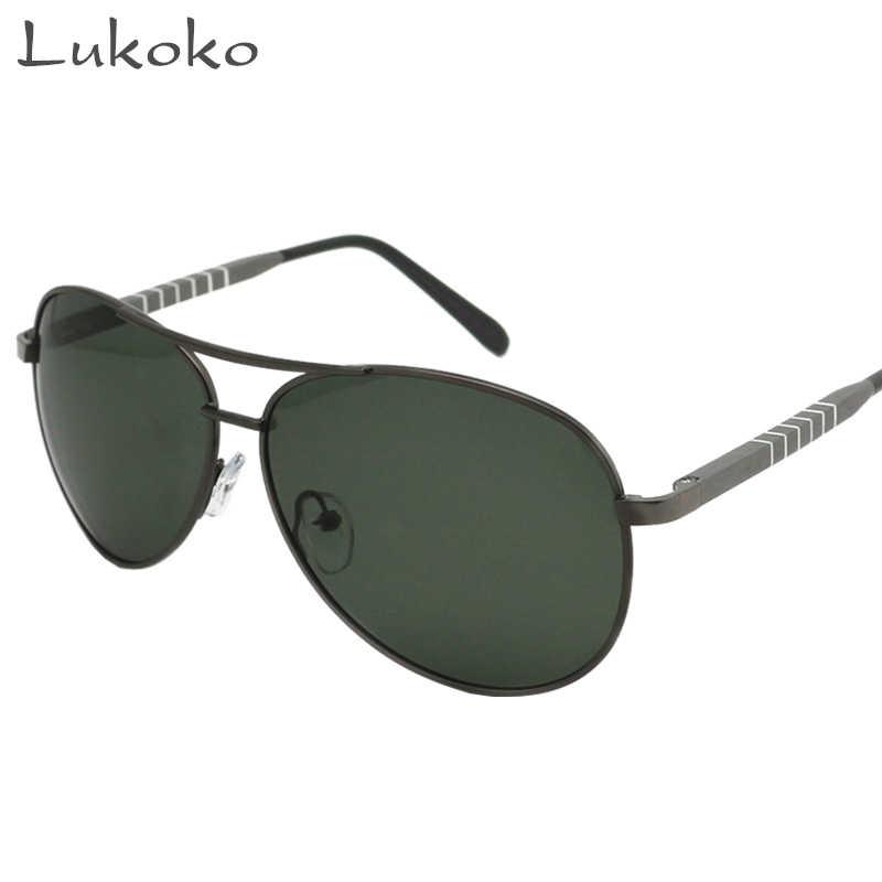 de6a5c3e27a Lukoko UV Sun Glasses For Men 2017 Polarized Lunette 58 Brand Men Sunglasses  2017 Polarized Brand