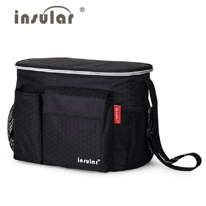 Insulation Aluminum Baby Stroller Bag Baby Carriage Food Cup Bag Pram Buggy Cart Bottle Bags Stroller