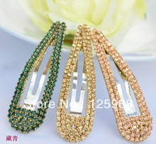 Free Shipping!2018 New Wholesale Hot Sale Rhinestone Hair Clips Fashion BB For Women/Girls Accessories
