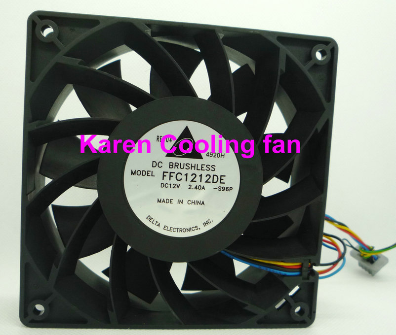 FOR Delta 12C12V2.4A Overfrequency Violent Fan Main Board PWM Intelligent Speed Control FFC1212DE