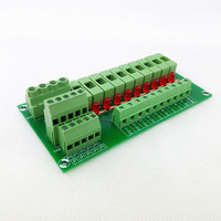 Fuse Module,10 Position Fuse Panel Mount Power Distribution Module Board.