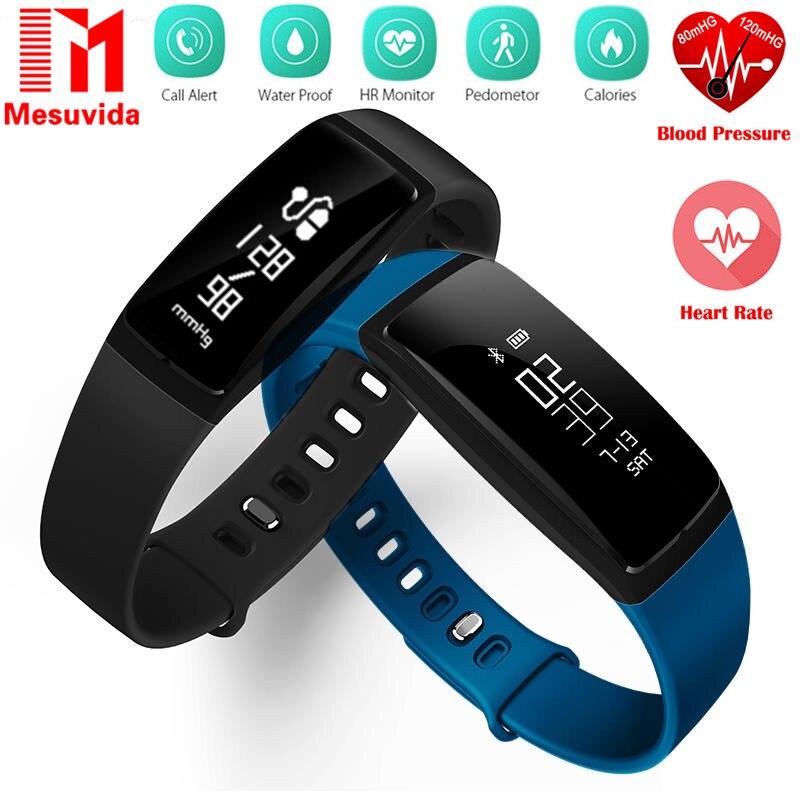 V07 Smart Wristband Heart Rate Blood Pressure Sleep Monitor Smart Band Bracelet