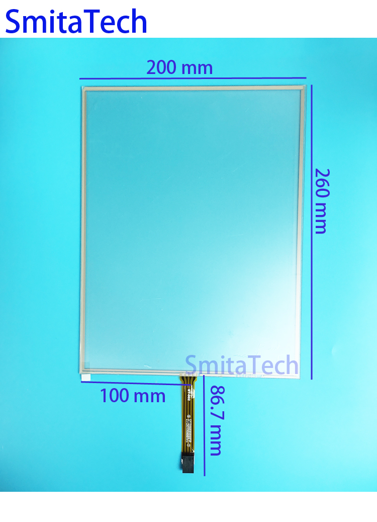 12.1'' inch ST-121001 260x200mm 4wire Resistive Touch screen Digitizer panel 200mm*260mm new 3 5 inch 4wire resistive touch panel digitizer screen for texet tn 300 gps free shipping