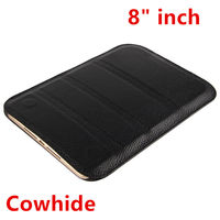 Case Cowhide For Huawei MediaPad T3 8 Tablet PC Protective Smart Cover Protector T38 Genuine Leather