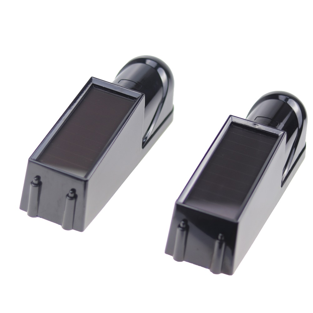Image 2 - 1 pair 433mhz Wireless Solar IR Sensor Perimeter Alarm System Set photoelectric Infrared Beam Detector-in Sensor & Detector from Security & Protection