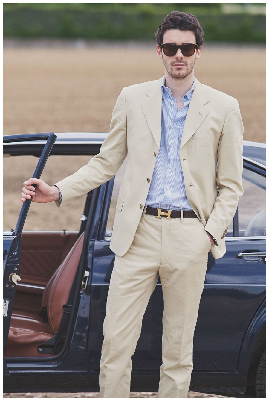 2015 new style men beige coat jacket fashion leisure in a suit ...