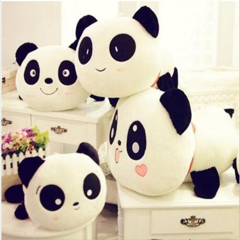 30 cm Gigante Panda Almohada Mini Juguetes de Peluche Animal de Peluche de Juguete Muñeca Almohada de Felpa Muñeca Regalo del Día de San Valentín Regalo de los niños