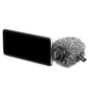 Image 3 - مكبر صوت رقمي بميكروفون ستيريو من BOYA BY DM100 يعمل بنظام أندرويد مع منفذ من النوع C لتسجيل المقابلة مباشرة