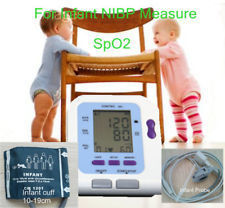 2014 NewCONTEC08C with Neonatal new born baby SPO2 sensor Digital Automatic NIBP Blood Pressure Monitor Sphygmomanometer Free Sh free shipping contec08c with adult spo2 sensor vet blood pressure monitor sphygmomanometer digital automatic nibp