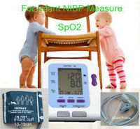 2014 NewCONTEC08C with Neonatal new born baby SPO2 sensor Digital Automatic NIBP Blood Pressure Monitor Sphygmomanometer Free Sh