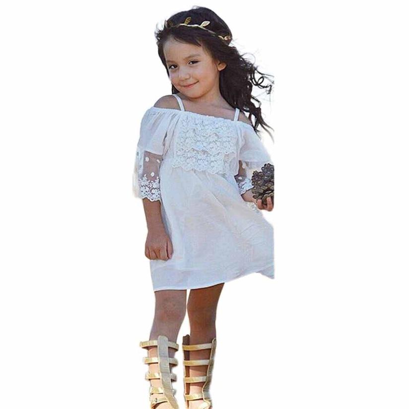 Mädchen kleid sommer Blume Mädchen Prinzessin Kleid Kinder Baby ...