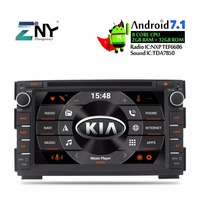 7 Android Car DVD 2 Din Auto Radio For Kia Ceed 2010 2011 2012 Venga Multimedia Audio Stereo Bluetooth GPS Glonass Navigation