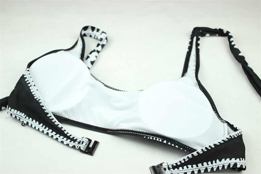 YICN 2018 Bayan Düşük Bel Mayo Bandaj Bikini Setleri Seksi Brezilyalı Şınav Bikini Kız Plaj Mayo