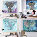 Elephant Mandala Tapestry Throw Hippie Pareo Tapestry Hanging Decorative Wall Tapestries Wrap shawl Throw Towel Drop Shipping