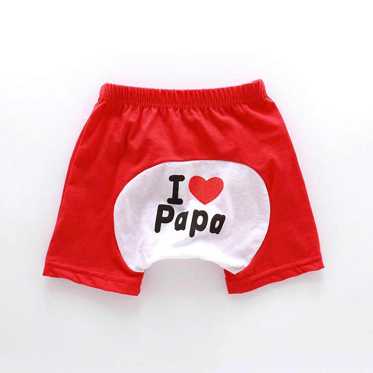 Новые летние короткие штаны летняя одежда для маленьких девочек и мальчиков тонкое дышащее детское нижнее белье милые трусики с рисунками YB433