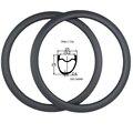 700c дорожный диск обод велосипеда 25x25 мм ассиметричный бескамерный карбоновый дисковый тормозной обод 360 +/-15 г дисковый тормоз шоссейный обо...